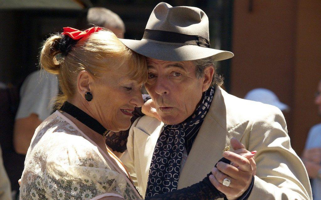 Tango de rua em Buenos Aires