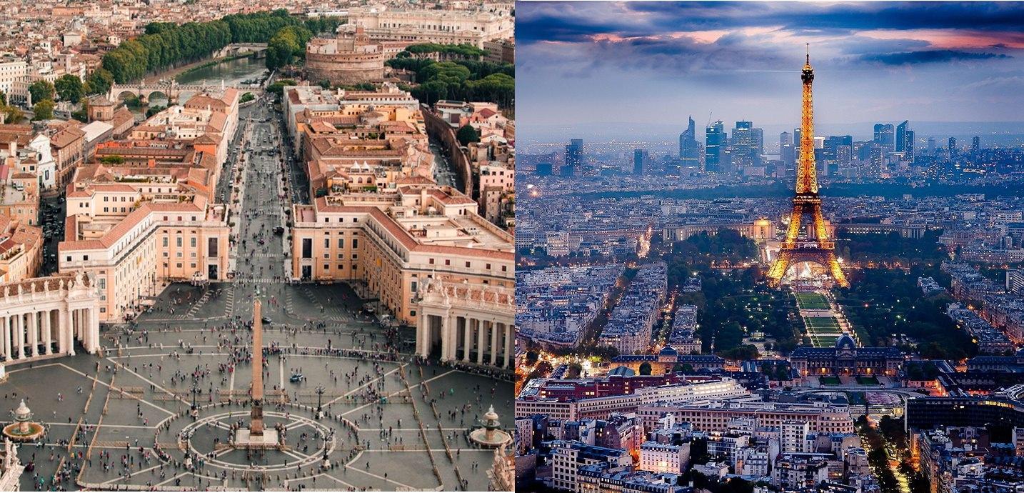 Viagem gastronômica: Aonde comer em Roma e Paris?